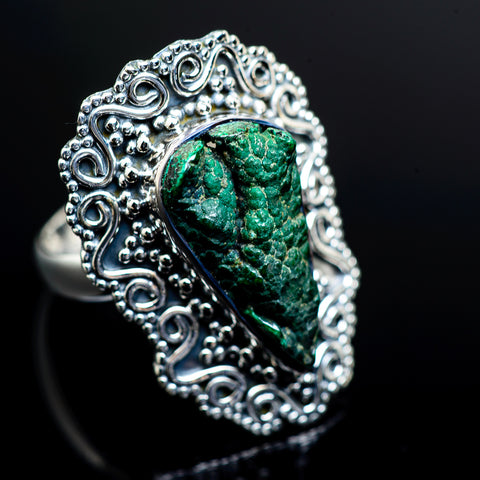 Blister Malachite Rings handcrafted by Ana Silver Co - RING982632