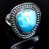 Larimar Rings handcrafted by Ana Silver Co - RING982777
