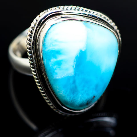 Larimar Rings handcrafted by Ana Silver Co - RING983600