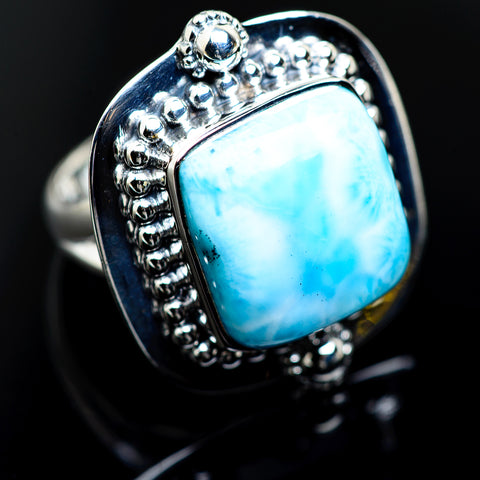 Larimar Rings handcrafted by Ana Silver Co - RING984501