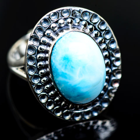 Larimar Rings handcrafted by Ana Silver Co - RING984630
