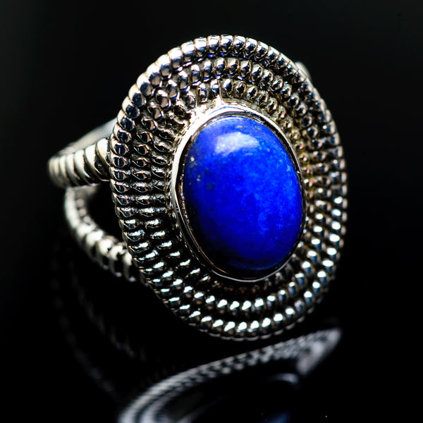 Lapis Lazuli Rings handcrafted by Ana Silver Co - RING985955