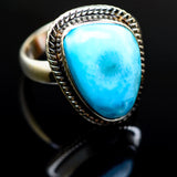 Larimar Rings handcrafted by Ana Silver Co - RING986163