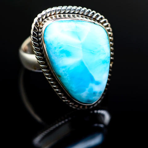 Larimar Rings handcrafted by Ana Silver Co - RING986219