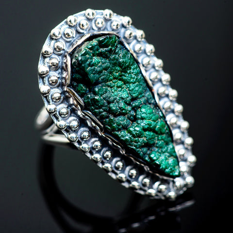 Blister Malachite Rings handcrafted by Ana Silver Co - RING989496