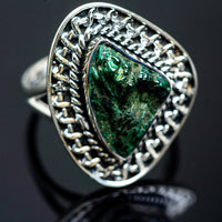 Blister Malachite Rings handcrafted by Ana Silver Co - RING989670