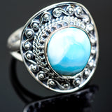 Larimar Rings handcrafted by Ana Silver Co - RING989730