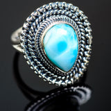 Larimar Rings handcrafted by Ana Silver Co - RING989761