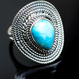 Larimar Rings handcrafted by Ana Silver Co - RING991903