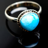 Larimar Rings handcrafted by Ana Silver Co - RING992712