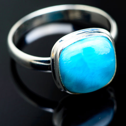 Larimar Rings handcrafted by Ana Silver Co - RING992745