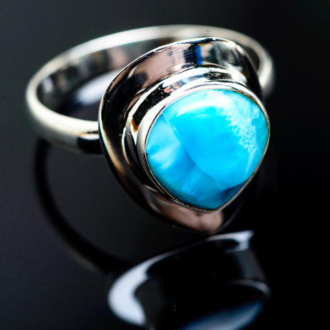 Larimar Rings handcrafted by Ana Silver Co - RING992918