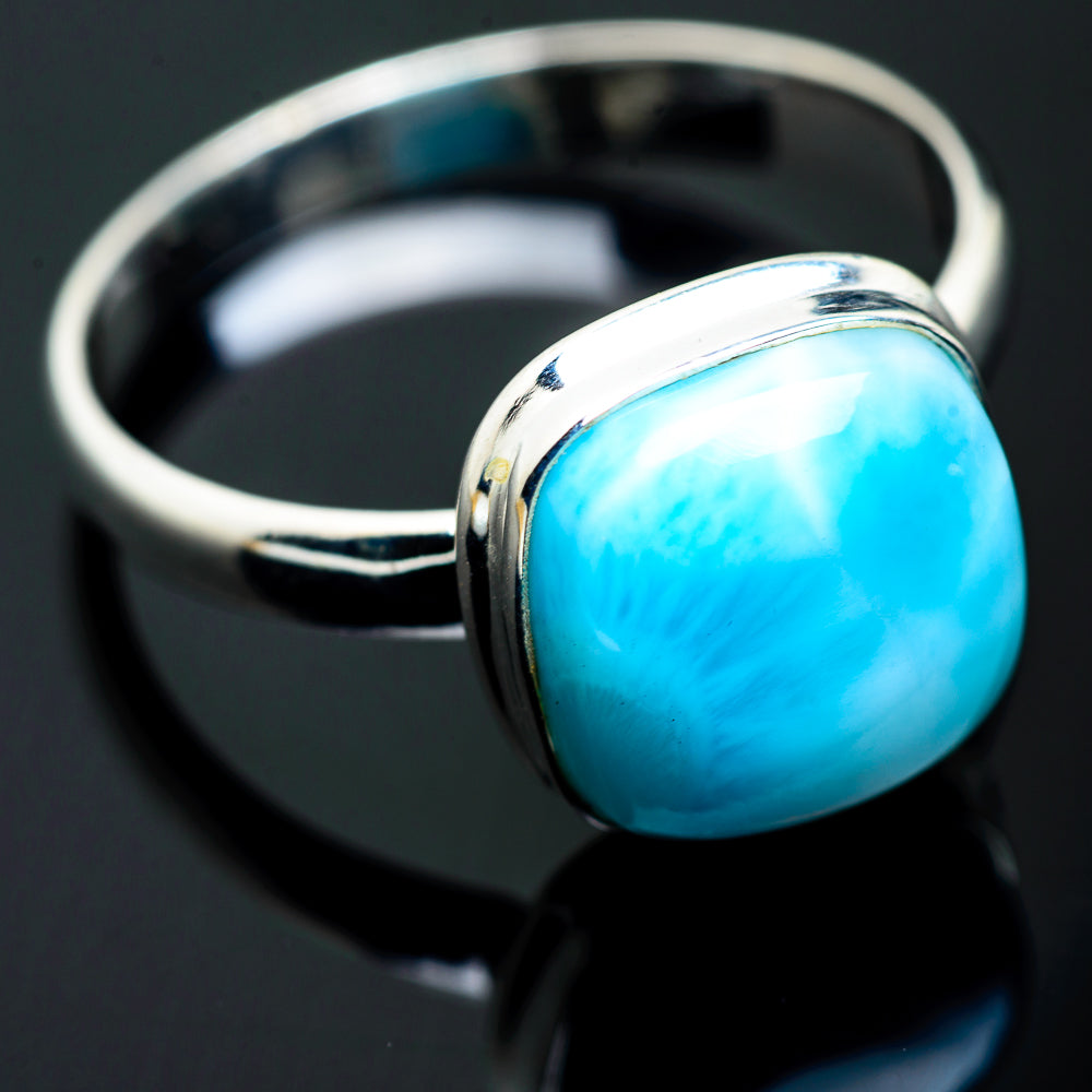 Larimar Rings handcrafted by Ana Silver Co - RING993259