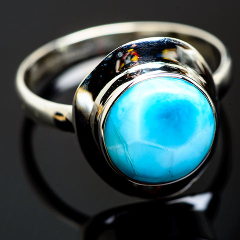 Larimar Rings handcrafted by Ana Silver Co - RING993290