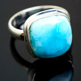 Larimar Rings handcrafted by Ana Silver Co - RING993609