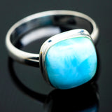 Larimar Rings handcrafted by Ana Silver Co - RING993641