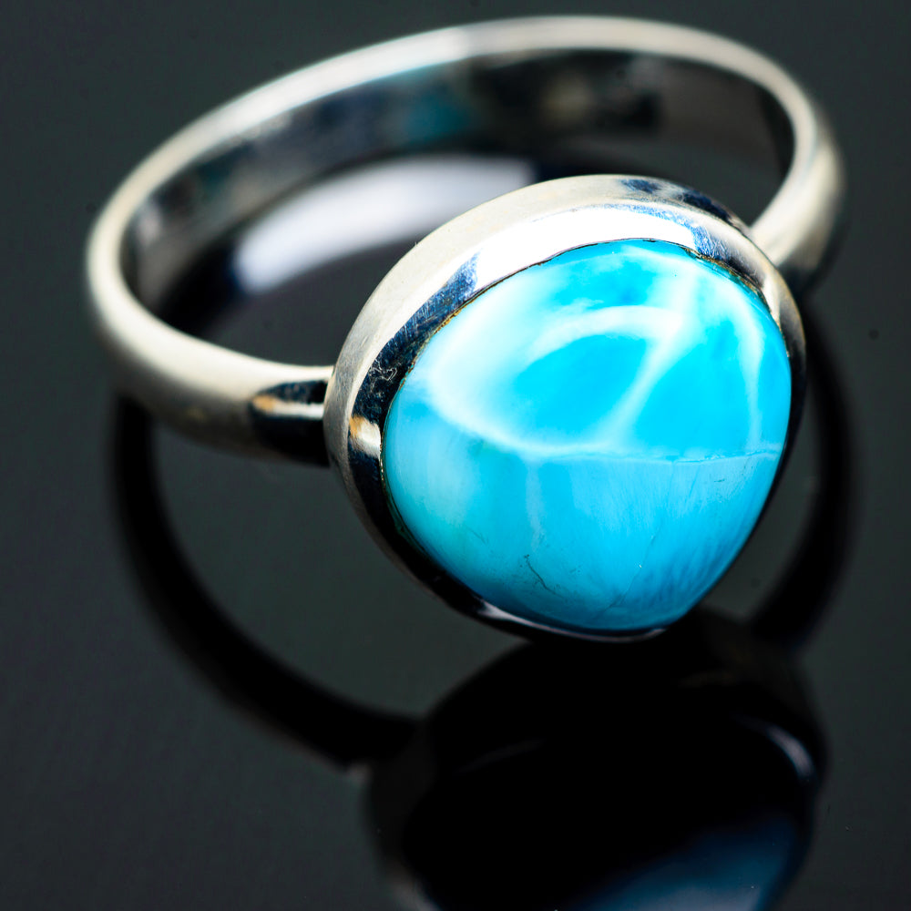 Larimar Rings handcrafted by Ana Silver Co - RING993680