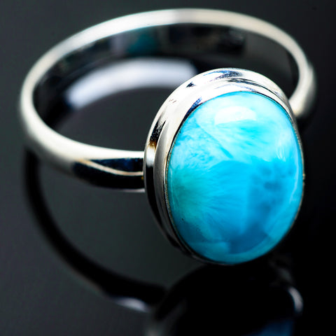 Larimar Rings handcrafted by Ana Silver Co - RING993849