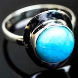 Larimar Rings handcrafted by Ana Silver Co - RING993853