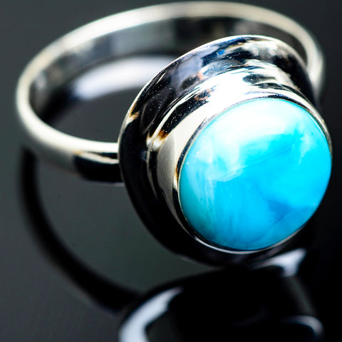 Larimar Rings handcrafted by Ana Silver Co - RING993956