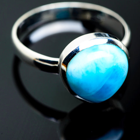 Larimar Rings handcrafted by Ana Silver Co - RING994000