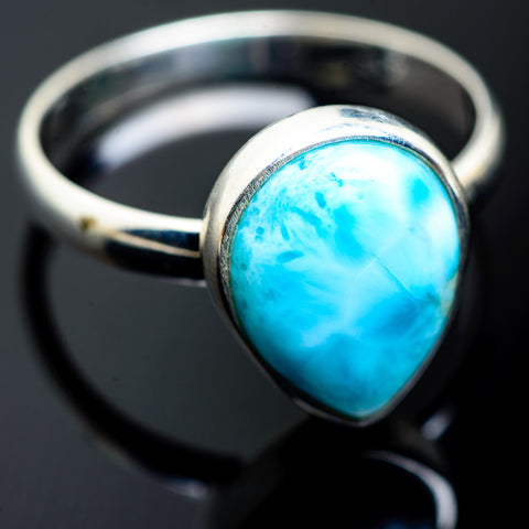 Larimar Rings handcrafted by Ana Silver Co - RING994071