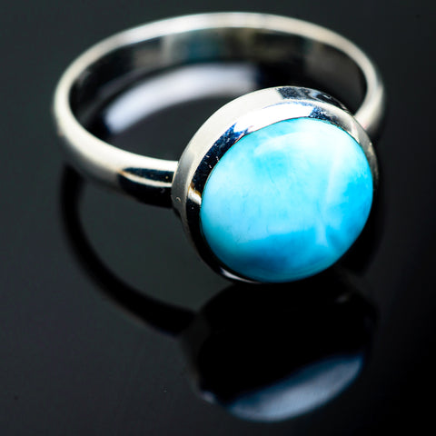 Larimar Rings handcrafted by Ana Silver Co - RING994330