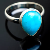 Larimar Rings handcrafted by Ana Silver Co - RING994396
