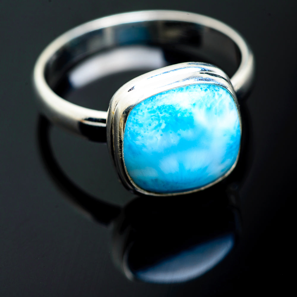 Larimar Rings handcrafted by Ana Silver Co - RING994410