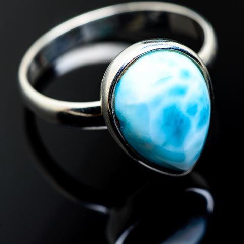 Larimar Rings handcrafted by Ana Silver Co - RING994674