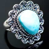 Larimar Rings handcrafted by Ana Silver Co - RING995176