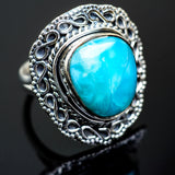 Larimar Rings handcrafted by Ana Silver Co - RING995700