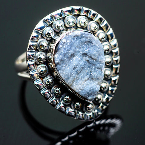 Desert Druzy Rings handcrafted by Ana Silver Co - RING995938