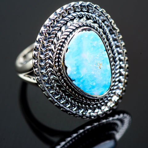 Larimar Rings handcrafted by Ana Silver Co - RING995984