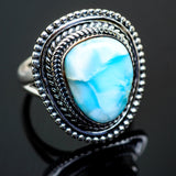 Larimar Rings handcrafted by Ana Silver Co - RING996121