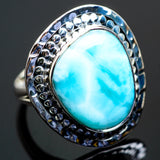Larimar Rings handcrafted by Ana Silver Co - RING996241