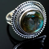 Labradorite Rings handcrafted by Ana Silver Co - RING996567
