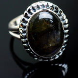 Labradorite Rings handcrafted by Ana Silver Co - RING996849