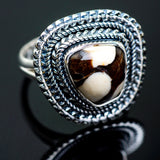 Peanut Wood Jasper Rings handcrafted by Ana Silver Co - RING997135