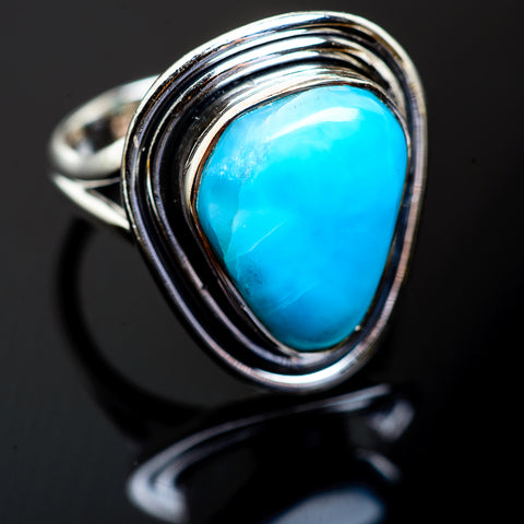 Larimar Rings handcrafted by Ana Silver Co - RING997494