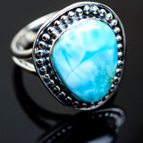 Larimar Rings handcrafted by Ana Silver Co - RING997707