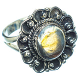 Labradorite Rings handcrafted by Ana Silver Co - RING11041