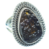 Tektite Rings handcrafted by Ana Silver Co - RING13493