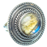 Labradorite Rings handcrafted by Ana Silver Co - RING13672