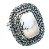 Dendritic Opal Rings handcrafted by Ana Silver Co - RING13841