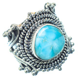 Larimar Rings handcrafted by Ana Silver Co - RING13992