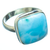 Larimar Rings handcrafted by Ana Silver Co - RING14917