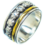 Meditation Spinner Rings handcrafted by Ana Silver Co - RING16201