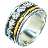 Meditation Spinner Rings handcrafted by Ana Silver Co - RING17871