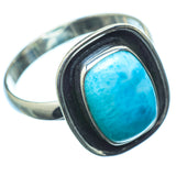 Larimar Rings handcrafted by Ana Silver Co - RING20221
